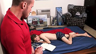 Horny daddy bangs his stepson