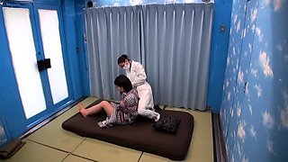 Big breasted Oriental wife gets tied up and pounded hard