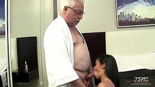 Wife fucking with old men