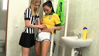 Egypt teen couple first time Brazilian player plumbing the r