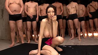 Best Gangbang video with Blowjob,Japanese scenes