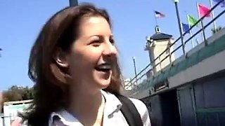 Shy cheating wife invited on a boat fucked two bbc