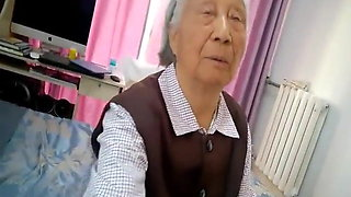 Chinese granny gets fucked