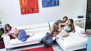 Slutty Alita Lee Threesome with Older Couple