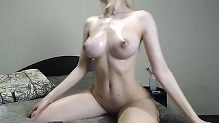 Amazing cam model college girl is cumming and squirting twice (from her camshow June, 8th)