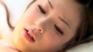 Cute Japanese Teen Sex Massage Glass Room