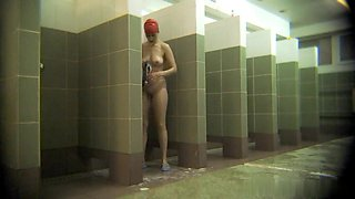 Hot Russian Shower Room Voyeur Video  56
