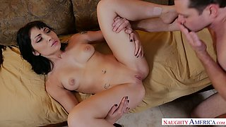 Sex hungry whore Rina Ellis craves the cock of a married man