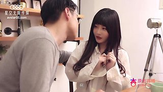 Model - Cute Asian Teen Screaming Whore With Big Tits Fucked By The Boss