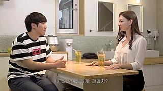 AMWF Smirnova Lina Russian Girl NTR Shower Interracial Rough Sex Stepmom With Korean Guy Colleger Son International Contract Mar