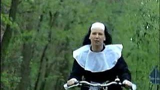 Nun On Bike