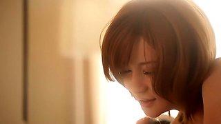 Incredible Japanese model Yuria Satomi in Hottest 69, natural tits JAV clip