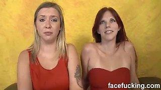 Facial Abuse Zara Ryan and Annabel Harvey