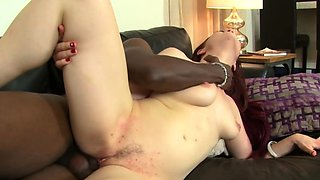 BBC Does White Wife On Couch Make A Deep Sex Session