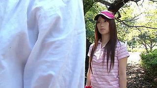 Japanese whore gets gangbanged hardcore