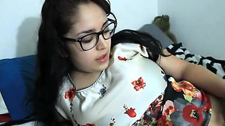 Dress Up With Daisy Dabs 1: Latina Teen Gets Pounded And Cum On Glasses