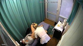 Sexy slender brunette gets her pussy shaved on hidden cam
