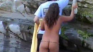 Nudist women spied at nudist beach