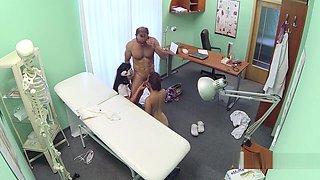 Doctor And Nurse Fuck Teen In Hospital