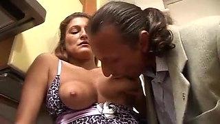 Italian Milf Must Pay Her Debt