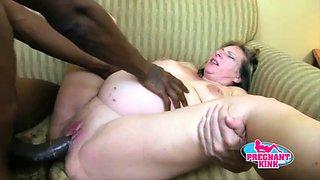 Pregnant cock loving slut!11
