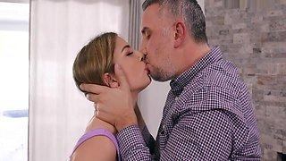Pierced Cheating Wife Kristen Scott Gets A Full Load In Her Tight
