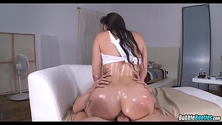 Oiled up Phat Ass