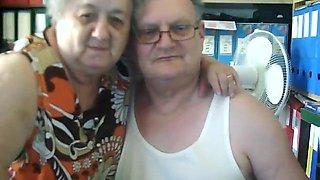 Italian Old Couple
