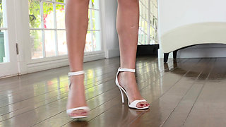 LoveHerFeet - Lusty British Foot Fucking Session