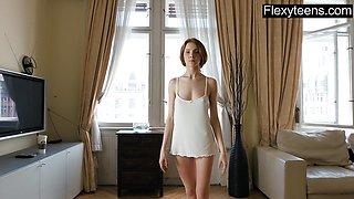 Sexy Redhead hottie Lukoshkina