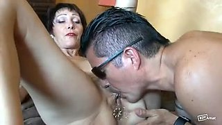 Hottest Rimming scene with French,Brunette scenes