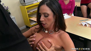 Big-tit Latina teacher gives her students a sex-ed lesson