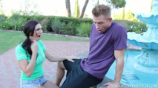 Holly Michaels Bill Bailey in My Neighbours Hot Friend