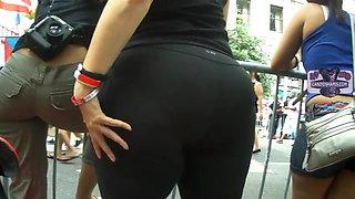 Candid Big Butt - Mature Ass Voyeur - Street Booty