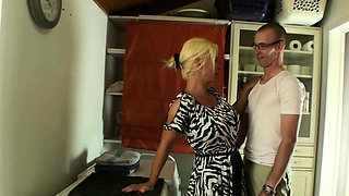 Family Story - German Mother Fuck with Step Son all Day
