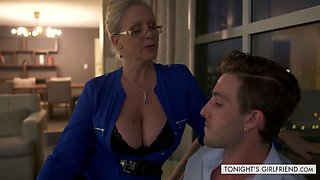 Busty Older Babe Julia Ann Makes Him Really Happy