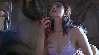 Indian Actress Amrita Das Gupta Passionate Sex with Shopwala