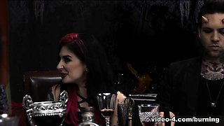 Joanna Angel & Ophelia Rain & Xander Corvus in Cindy Queen of Hell Part 5 - BurningAngel