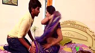 Romance with village aunty