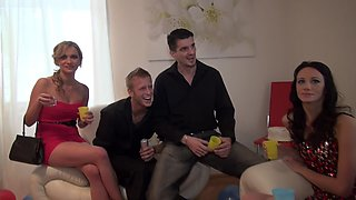 Charlotte Reed & Angel Piaff & Corrine & Eveline & Ilsa in horny guys fuck skinny young porn chicks