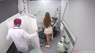 Horny bitch Gala Brown is nailed by aroused doctor Nick Moreno