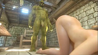 3d girls love ogres and minothaurs!