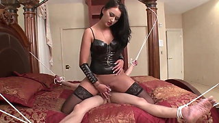 Chastity Slave gets Blue Balls