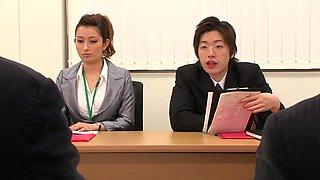 Nao Yoshizaki in Sex Slave Office Lady part 3