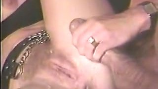 Incredible double penetration retro video with Max De Longue and Keisha