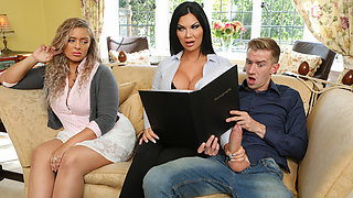 Jasmine Jae & Danny D in Tea And Crump-tits - BRAZZERS