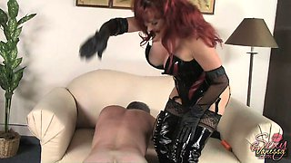 This slave is going to do everything and anything I tell