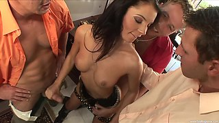 Helena Sweet and Lucy Belle love being pounded by multiple dicks