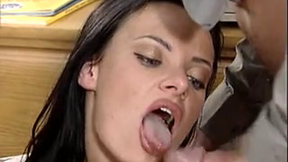 German secretary Angélique fucked hard