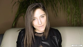 Abella Danger is a brunette slave who likes good steamy action